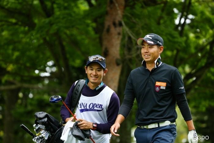 カメラがだーい好きな二人。 2015年 ANAオープンゴルフトーナメント 3日目 富村真治