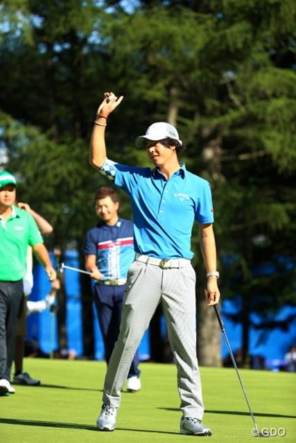 1年2カ月ぶりの優勝を決めた石川遼。難攻不落の札幌ゴルフ倶楽部 輪厚コースを1Wで攻め抜いた