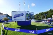 2015年 ANAオープンゴルフトーナメント 最終日 看板