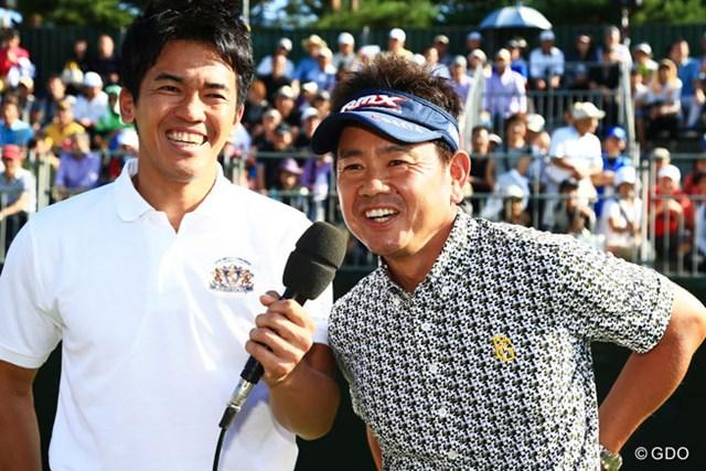 前年は藤田寛之が逆転で優勝した