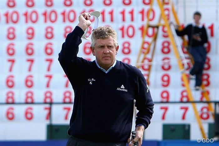 モンゴメリーが2007年大会を制し、自身ヨーロピアンツアーで最後の勝利となるツアー31勝目を挙げた(Andrew Redington/Getty Images) 2015年 ポルシェ ヨーロピアンオープン 事前  コリン・モンゴメリー