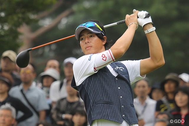石川遼は1アンダーでホールアウトした