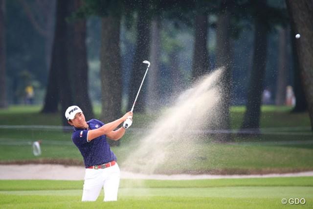 2015年 アジアパシフィック ダイヤモンドカップゴルフ 初日 永野竜太郎 パワーあるよね。1アンダー発進