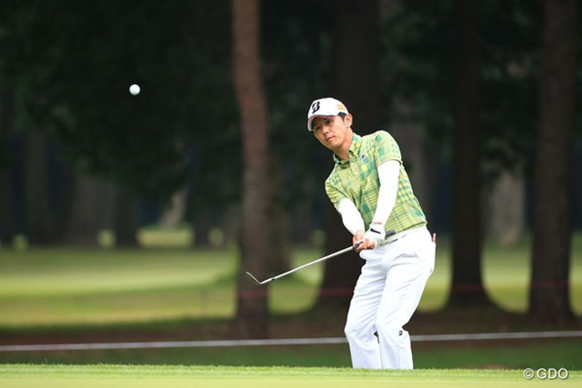 2015年 アジアパシフィック ダイヤモンドカップゴルフ 初日 近藤共弘 17番のダボは痛かったね。2アンダー9位