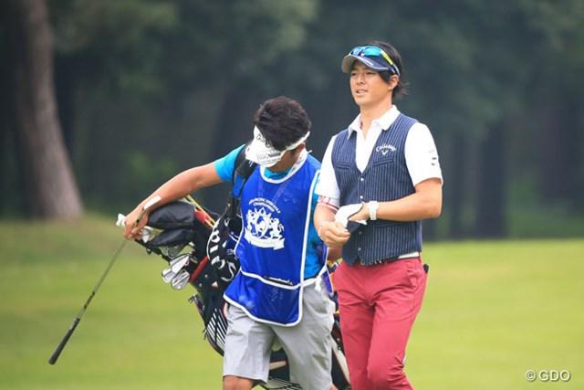 2015年 アジアパシフィック ダイヤモンドカップゴルフ 初日 石川遼 もっと笑顔みせて~