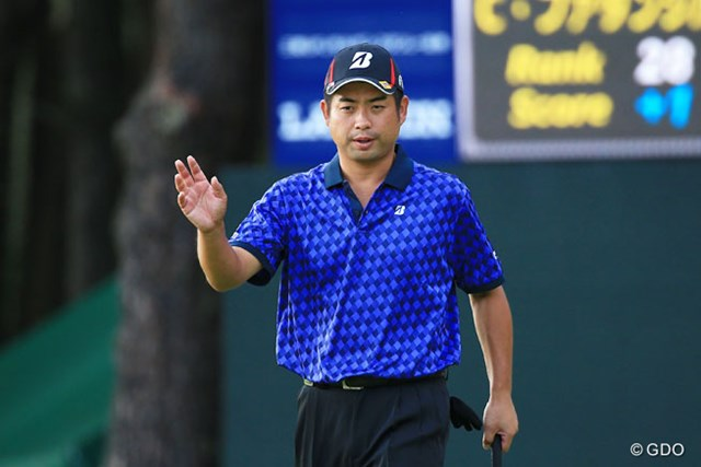 スコアを3つ伸ばした池田勇太。最終日は2打差を追い今季2勝目を目指す