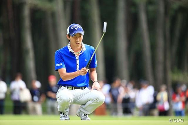 2015年 アジアパシフィック ダイヤモンドカップゴルフ 3日目 重永亜斗夢 利き目は左目?