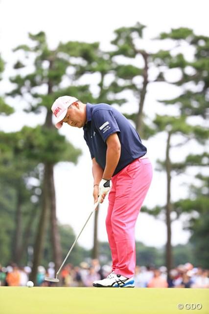 2015年 アジアパシフィック ダイヤモンドカップゴルフ 3日目 小田孔明 3オーバーとちょっと後退