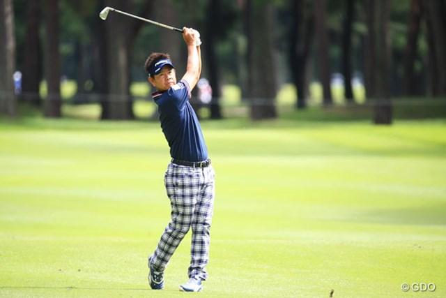 2015年 アジアパシフィック ダイヤモンドカップゴルフ 3日目 藤田寛之 スコアがのびないな~、やっぱり難コース