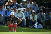 2015年 ミヤギテレビ杯ダンロップ女子オープン 最終日 永峰咲希