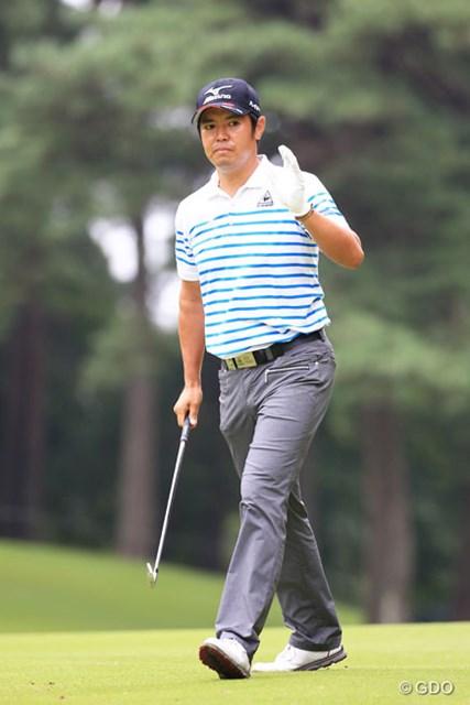 2015年 アジアパシフィック ダイヤモンドカップゴルフ 最終日 武藤俊憲 一時はトップに並んだ武藤俊憲だったが、最後はキム・キョンテに逃げ切られた
