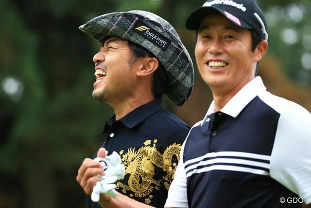 2015年 アジアパシフィック ダイヤモンドカップゴルフ 最終日 片山晋吾 I.J.ジャン ご機嫌?