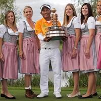 トンチャイ・ジェイディーがツアー通算7勝目を挙げた(Adam Pretty/Getty Images) 2015年 ポルシェ ヨーロピアンオープン 最終日 トンチャイ・ジェイディー