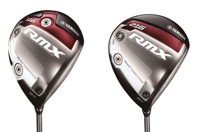 ヤマハ_RMX116、RMX216 ドライバーのヘッドは好みの弾道と打感から選べる2タイプ。ヘッド体積は445ccの『RMX116』(左)に対し、『RMX216』(右)は最大級の460cc