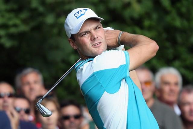 マルティン・カイマー イタリアオープンで好調なゴルフを印象付けたカイマーが2度目の大会制覇を狙う(Getty Images)