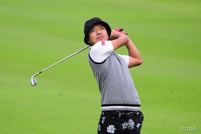 2014年の「つるやオープンゴルフトーナメント」以来、約1年6カ月ぶりの首位発進となった片山晋呉