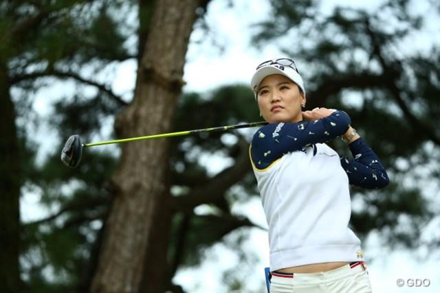ユ・ソヨンが海外メジャー覇者の実力をいかんなく発揮。単独首位でスタートした