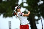2015年 日本女子オープンゴルフ選手権競技 初日 キム・ヒョージュ