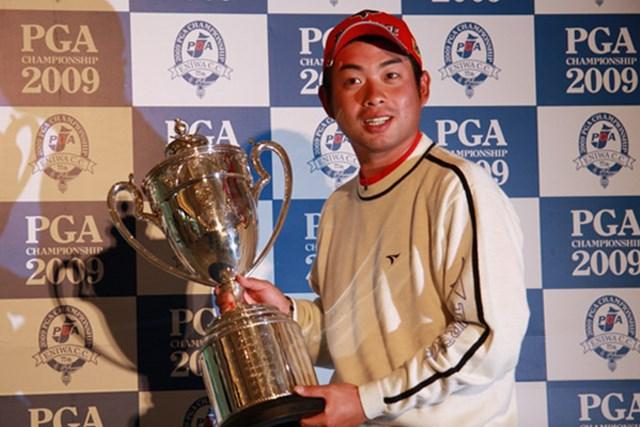 メジャー戦「日本プロ」でツアー初勝利を果たした池田勇太。器の大きさを感じさせる23歳だ