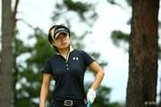 2015年 日本女子オープンゴルフ選手権競技 初日 篠原真里亜