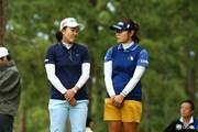 2015年 日本女子オープンゴルフ選手権競技 初日 前田陽子 藤田幸希