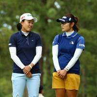 THE・漫才 2015年 日本女子オープンゴルフ選手権競技 初日 前田陽子 藤田幸希