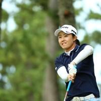 よく初心者の人って握ったグリップを絶対こわさないよね 2015年 日本女子オープンゴルフ選手権競技 初日 前田陽子