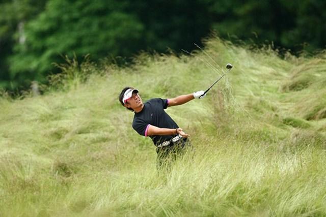 2009 全米オープン 最終日 矢野東 第3ラウンドで「77」を叩き、大きく後退してしまった矢野東(Chris McGrath /Getty Images)