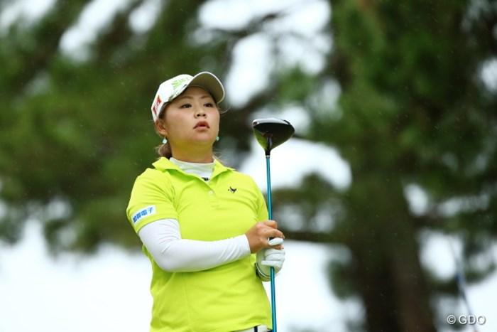 どこかペットっぽくて愛らしい 2015年 日本女子オープンゴルフ選手権競技 初日 東浩子