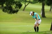 2015年 日本女子オープンゴルフ選手権競技 初日 藤崎莉歩