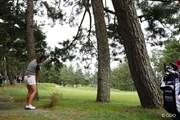 2015年 日本女子オープンゴルフ選手権競技 初日 藤田幸希