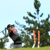 朝はまだ青空とはいかなかったんだよね。 2015年 日本女子オープンゴルフ選手権競技 2日目 藤田幸希