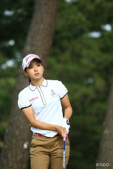 こんな華奢な女の子でも予選通るってゴルフは本当に不思議なスポーツ。