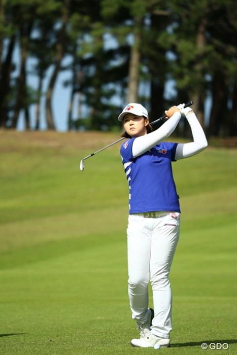 なぜだかこのサイズに惹かれる。 2015年 日本女子オープンゴルフ選手権競技 2日目 ペク・キュジョン