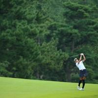 飛ばし屋さんですね。 2015年 日本女子オープンゴルフ選手権競技 3日目 城間絵梨