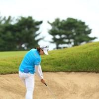 超絶インパクト! 2015年 日本女子オープンゴルフ選手権競技 3日目 ペク・キュジョン