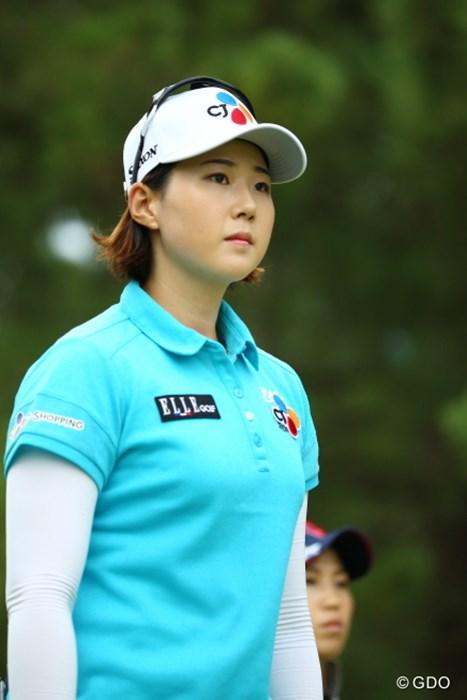 いいお母さんになれそう。 2015年 日本女子オープンゴルフ選手権競技 3日目 ペク・キュジョン