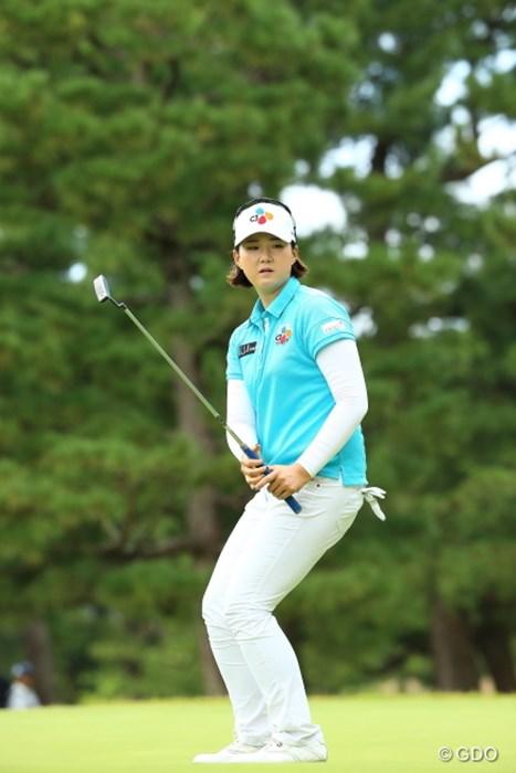 このガタイ。 2015年 日本女子オープンゴルフ選手権競技 3日目 ペク・キュジョン