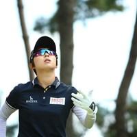 ここね、ゴルフダイジェスト・オンラインのフォトギャラリーって。 2015年 日本女子オープンゴルフ選手権競技 3日目 キム・ヒョージュ