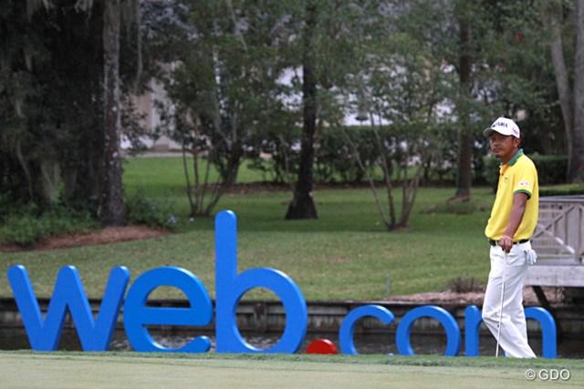 2015年 ウェブドットコムツアー選手権 3日目 岩田寛 あと1日。来季の出場権自体は確定している岩田寛。順位をどこまで上げられるか?