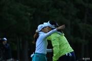 2015年 日本女子オープンゴルフ選手権競技 最終日 菊地絵理香 チョン・インジ