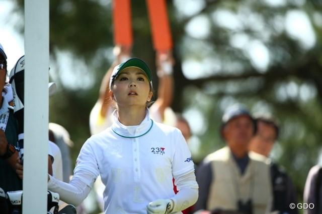 2015年 日本女子オープンゴルフ選手権競技 最終日 菊地絵理香 うさぎか!
