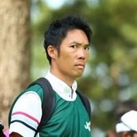 今週はアマチュアのキャディさん役。 2015年 日本女子オープンゴルフ選手権競技 最終日 植村啓太