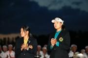 2015年 日本女子オープンゴルフ選手権競技 最終日 チョン・インジ 勝みなみ