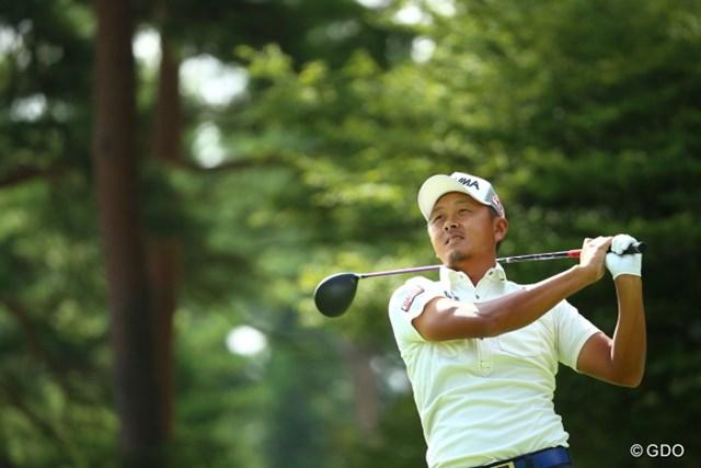 来季PGAツアー出場権を獲得した岩田寛が、ホストプロとして参戦(※画像は「フジサンケイクラシック」3日目)