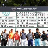 本間ゴルフ契約プロたちが集結。ホストVで大会を盛り上げる!(※大会オフィシャル提供) チーム本間