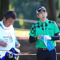 笠りつ子プロのお兄ちゃん参戦 2015年 HONMA TOURWORLD CUP AT TROPHIA GOLF 初日 笠哲郎