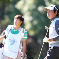 健闘4アンダートップタイ 2015年 HONMA TOURWORLD CUP AT TROPHIA GOLF 初日 平本穏