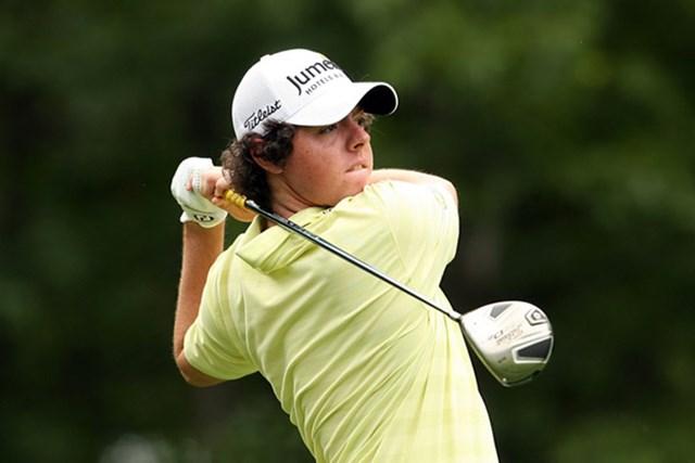 2009 全米オープン 予備日 ロリー・マキロイ 20歳の新鋭、R.マキロイがトップ10に食い込んだ! 末恐ろしい有望プレーヤーだ(Andy Lyons /Getty Images)