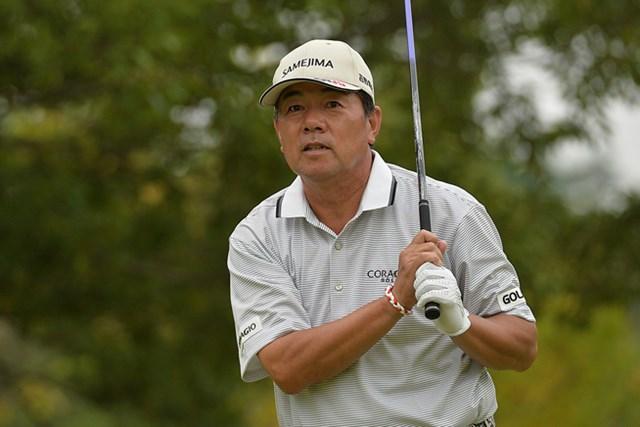 室田淳が首位堅守!シニアメジャー6勝目に前進※画像提供:日本プロゴルフ協会